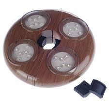 Patio Umbrella Lights Battery Operated by Snagshout 24 Led Warm White Patio Umbrella Lights