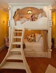 Bunk Bed Wooden Cheap Bunk Beds With Stairs For Slide Princess Diy