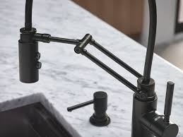 kitchen unique black kitchen faucets 4 hole black kitchen