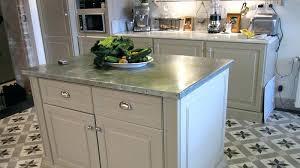 meuble cuisine zinc meuble cuisine bois et zinc meuble en zinc meuble cuisine bois