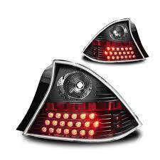 2001 honda civic tail lights 2001 2003 honda civic 2 door coupe performance led tail lights black