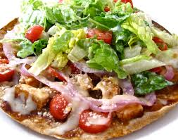 California Pizza Kitchen Tostada Pizza Skinny Bbq Chicken Tortilla Pizza With Weight Watchers Points