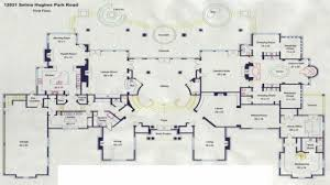 mansion floorplan 11 floor plans mansion house beverly hills mansion floor plan and