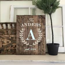 plank or wood sign workshop any size many designs ar