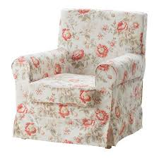Armchair Caddy Organizer Ikea Ektorp Jennylund Armchair Slipcover Cover Byvik Multi Floral