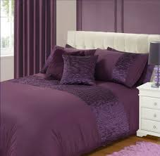 bedroom bedroom comforter ideas with plain plum purple duvet