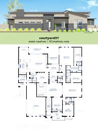amazing atrium house plans contemporary best inspiration home small house plans with central courtyard youtube stone atrium