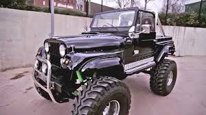 cj jeep lifted cj7 jeep monster truck 1978 for sale cloud9cars youtube