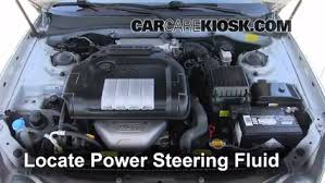 hyundai elantra power steering fluid follow these steps to add power steering fluid to a hyundai sonata