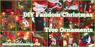 geeky fandom christmas tree