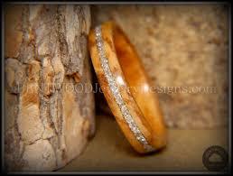 bethlehem olive wood bentwood bethlehem olive wood wedding rings silver glass inlay