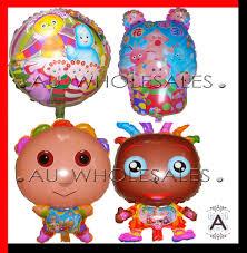 night garden balloon party supplies igglepiggle upsy daisy