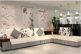 Whtite And Black Living Room FurnitureModern Furniture Sale - Corner sofa design