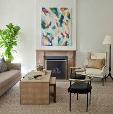indoor painting ideas living room transitional with indoor plants
