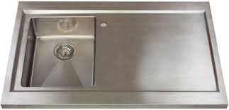 Astracast Sink  Bistro  Bowl Sit On Work Centre With Right - Sit on kitchen sink