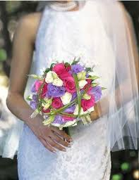 wedding flowers halifax purple white and hot pink bridal bouquet 160 00 send flowers