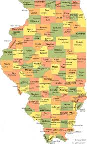 county map illinois county map