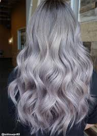salt and pepper hair with lilac tips 85 silver hair color ideas and tips for dyeing maintaining your