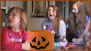 dad ate all the halloween candy prank on kids scary surprise on