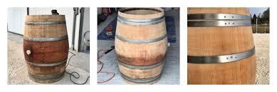 Barrel Side Table Diy Wine Barrel Coffee Table Luxe Adventure Traveler