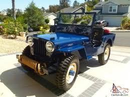 jeep landi jeep cj2a purchase jeep willys cj2a restored 4x4 full soft top
