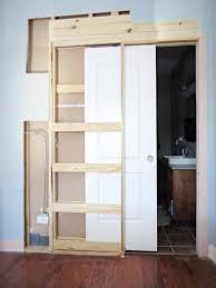 Installing A Closet Door How To Destroy Your Fears Install A Pocket Door Pocket Doors