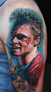 ponad 25 pomysłów na czasie na temat fight club tattoo na