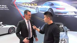 porsche canada 2016 porsche 911 interview with ceo of porsche canada alex