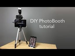 Cheap Photo Booth Rental How To Build A Diy Cardboard Photo Booth With Ipad Kiosk And