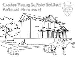 coloring pictures of books charles young buffalo soldiers coloring book charles young