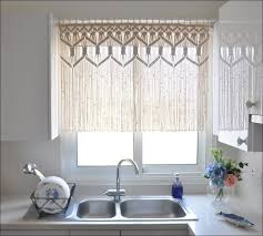 36 Inch Kitchen Curtains by Kitchen Corner Window Kitchen Curtain Ideas Combined Achim Home