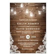 wedding invitations canada dreaded wedding invitations canada 52 rustic wood jars
