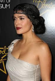 The Great Gatsby Inspired Wedding Hair Grey Eyeshadow Wedding