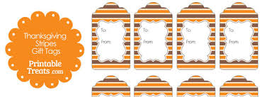 thanksgiving stripes gift tags printable treats
