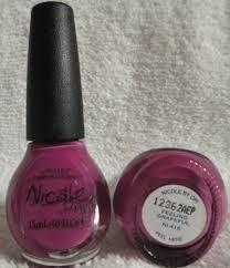 nicole opi nail polish feeling grapeful ni 416 purple violet