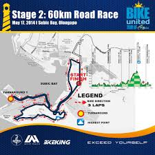 United Route Map Unilab Activehealth Bike United 2014 Subic Pinoy Fitness