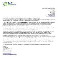 free resume cover letter examples lukex co