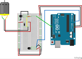 arduino motor wiring diagram components
