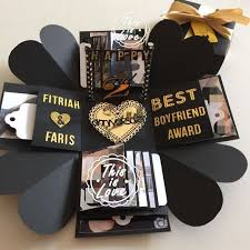 gifts for boyfriend 20 easy diy christmas gifts for him 20 explosion
