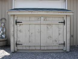 simple and easy steps to build a garbage storage shed my shed