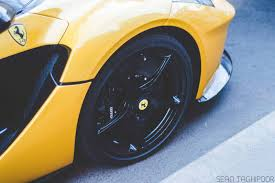 ferrari yellow and black how about a yellow and black ferrari laferrari 4 images how