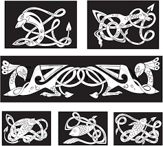 celtic ornaments and patterns for or religious design