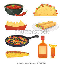 set cuisine cuisine dishes illustration set เวกเตอร สต อก