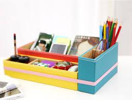 mochithings vivid desk organizer tray