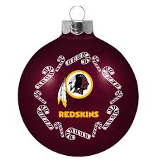 washington redskins traditional 2 58 ornament