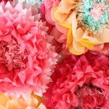 paper flower to make tissue paper flowers