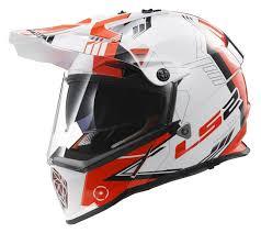 motocross helmets with goggles ls2 pioneer trigger helmet revzilla