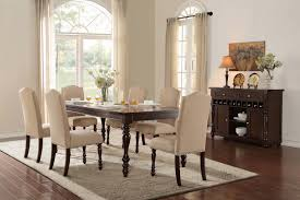 homelegance benwick dining set dark cherry d5425 90