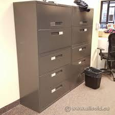 5 drawer lateral file cabinet global dark grey 5 drawer lateral file cabinet allsold ca buy