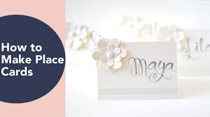 diy wedding place cards how to make place cards place card ideas diy wedding or